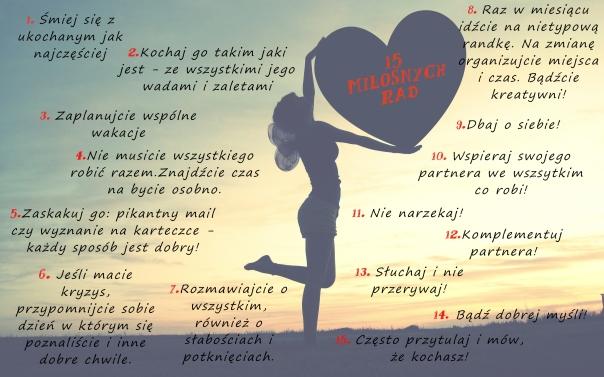15 miłosnych rad