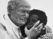 Jan Paweł II i dziecko