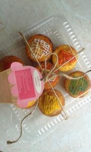 kokosowe muffinki walentynkowe