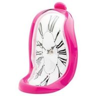 Pink-Time-Warp-Clock-Shelf-Clock-Office-Salvador